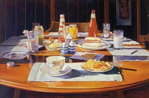 Supper Table - Mary Pratt