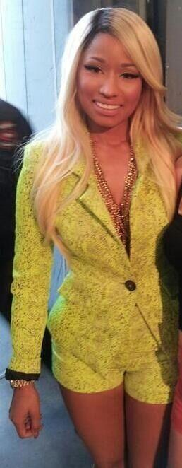 nicki minaj american idol wardrobe | Hot! or Hmm… Nicki Minaj's American Idol Vivienne Westwood ...