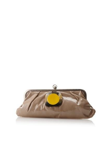MARNI Patent Leather Vernice Specchio Pouchette, Ceramic, http://www.myhabit.com