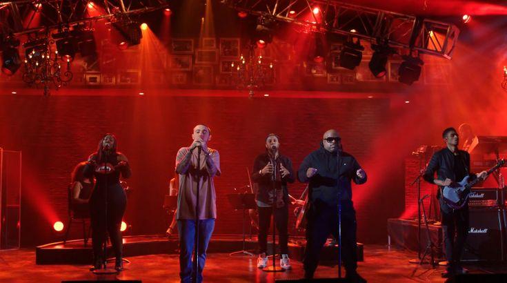 "Mac Miller & Cee-Lo Green Perform ""We"" On ""The Divine Feminine"""
