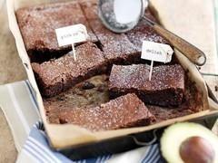 Brownies à l'avocat