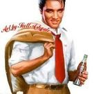 Elvis. First ad fir Coke I have seen with Elvis! Oh my gosh! This is BIG! REAL BIG!