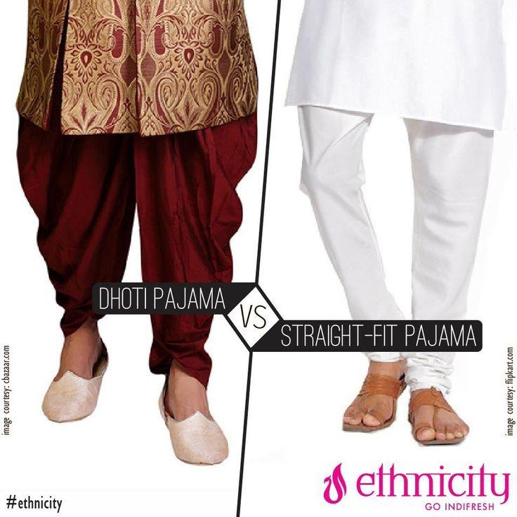 What would you sport on a kurta – Dhoti pajama or a Straight Fit pajama? #menswear #mensfashion #fashion #menswear #fashion #menswear #indifresh