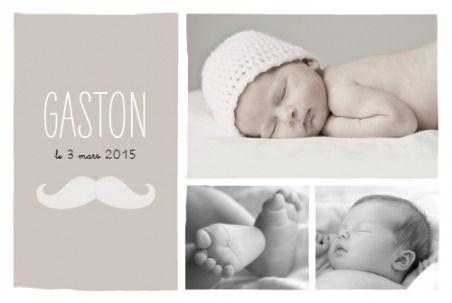 faire part naissance Moustache 3 photos by Marion Bizet pour www.fairepartnaissance.fr #moustache #mustache #faire #part #naissance