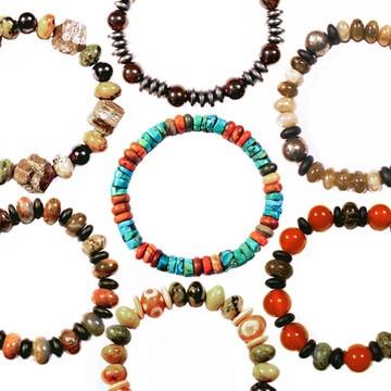 Fab.com | Naturally Artistic Stone Bracelets