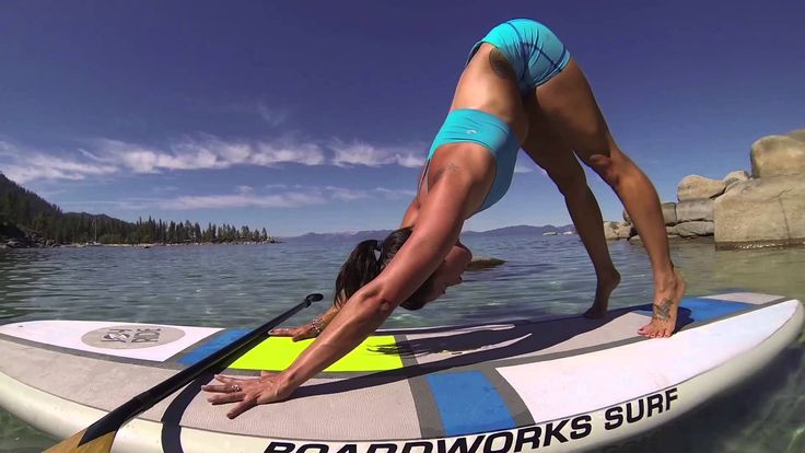 #surfing #yoga time