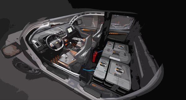 Colorado Rally Concept by Stefano Levorato, via Behance