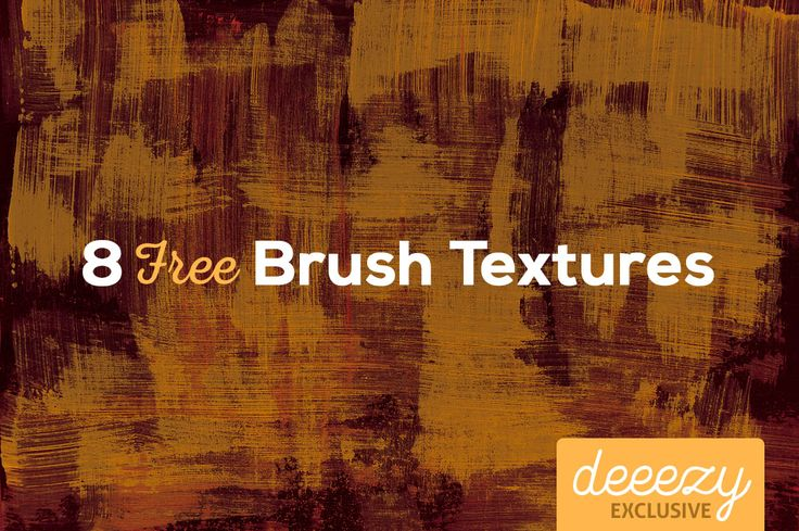 8 Free Brush Textures – Deeezy – Freebies with Extended License