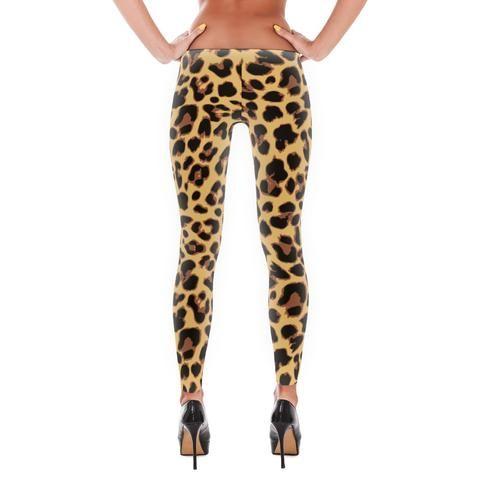 LA Supply Co Leopard Print Leggings