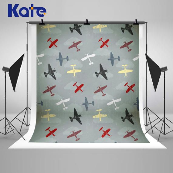 Vintage Aircraft Photography Backdrops Newborn Baby Airplane
