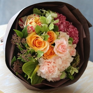 bouquet for mother's day 母の日期間限定こだわりブーケ
