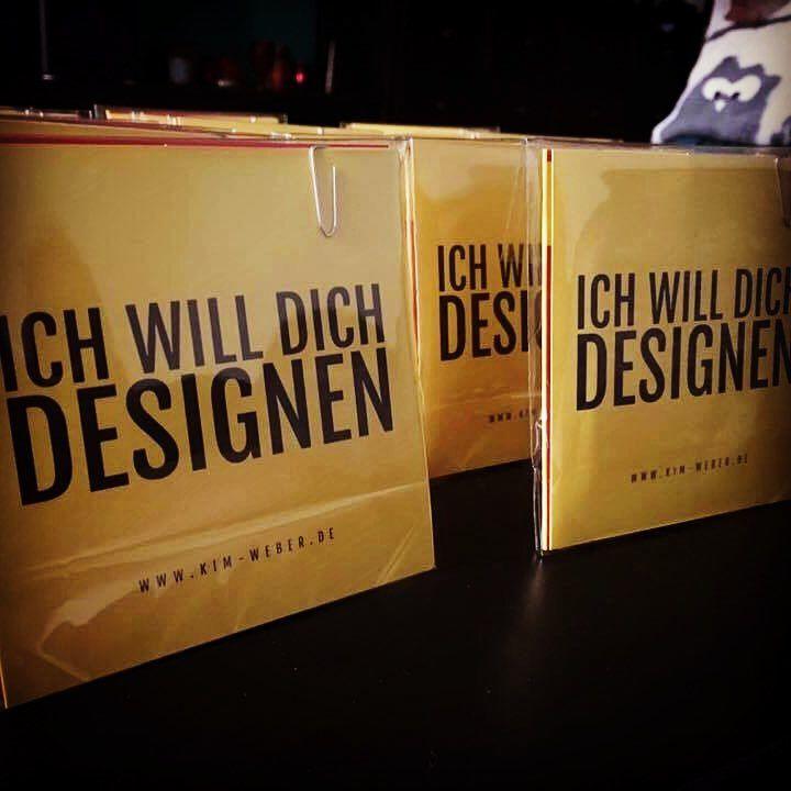 Mein Merchandise Flyer Visitenkarte M M S Design