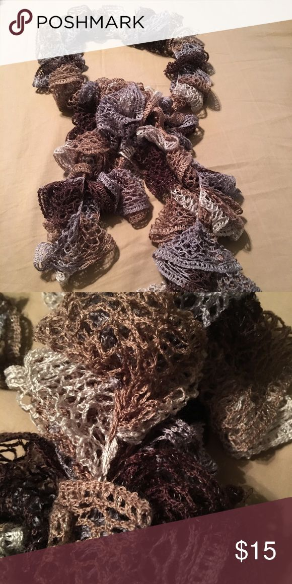 Beautiful multi colored scarf Only used once...in excellent condition. Accessories Scarves & Wraps