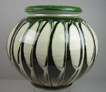 Kähler earthenware floor vase