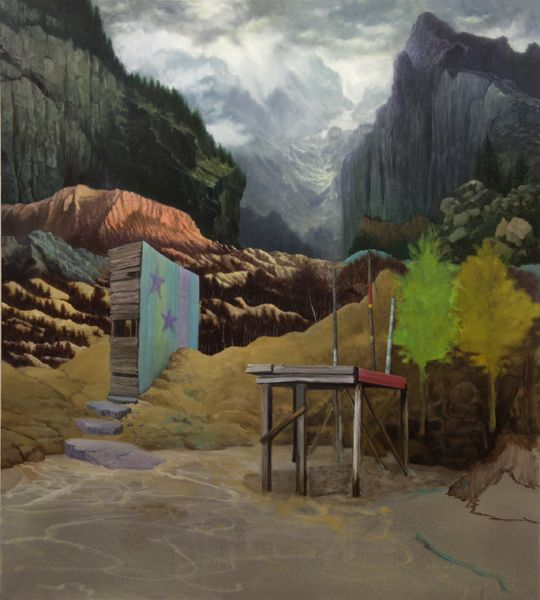 Paintings : Ben Deakin