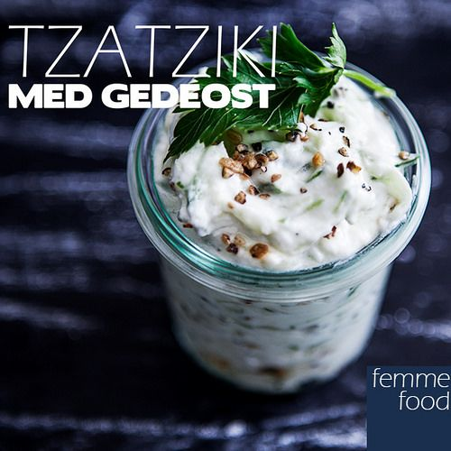 Tzatziki with goat cheese