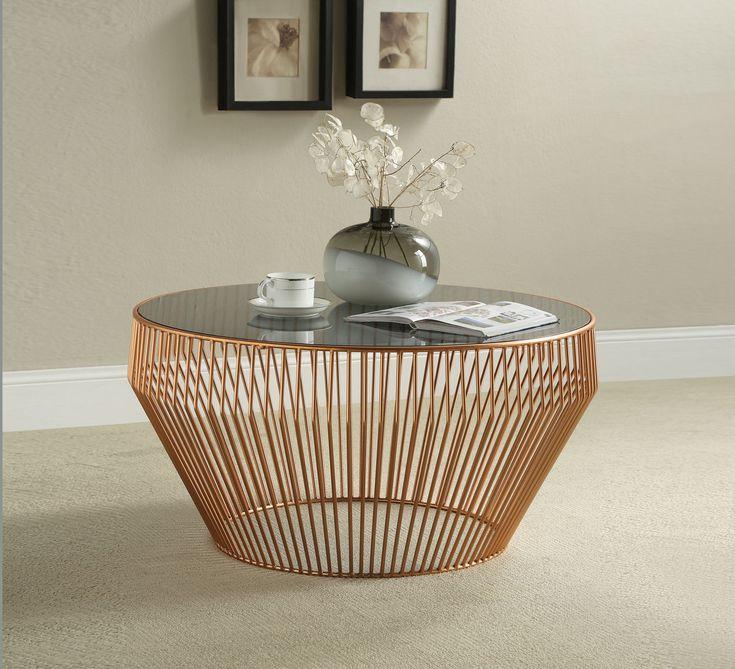 Kare Beistelltisch Beam 83737 Gold Stahl In 2020 Tisch Mit Marmorplatte Beistelltisch Tisch