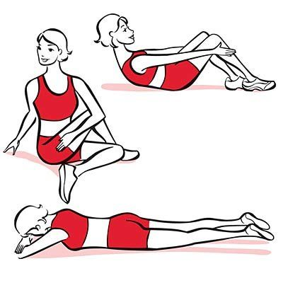 Three Easy Back Stretches