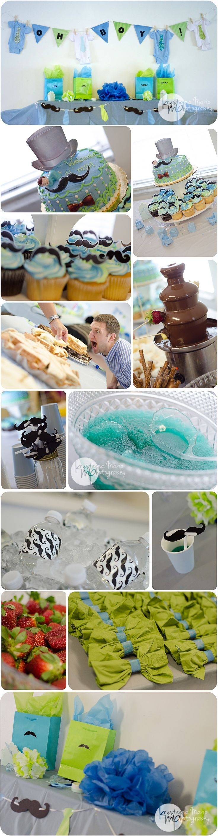 65 best Little Man Mustache Baby Shower Theme images on Pinterest