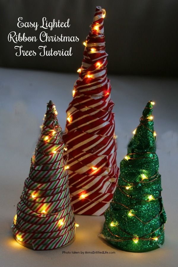 25 Easy And Affordable Christmas Crafts That You Need To Make Now Christmas Ribbon Crafts Affordable Christmas Easy Christmas Diy
