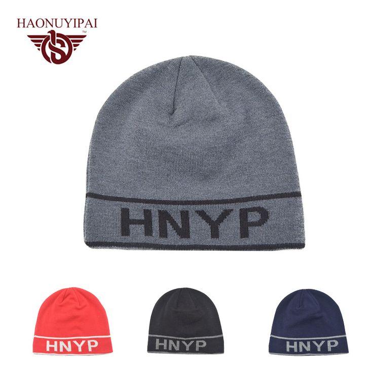Fashion Letter Warm Winter Hat Skullies Beanies Men Hat Knit Hat Female Cap For Women Men Beanie Unisex Headgear Bone