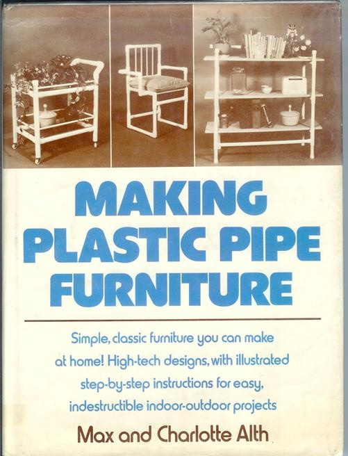 How to make PVC pipe furniture: This should fit right in with all the terrible craft ideas here on Pinterest!