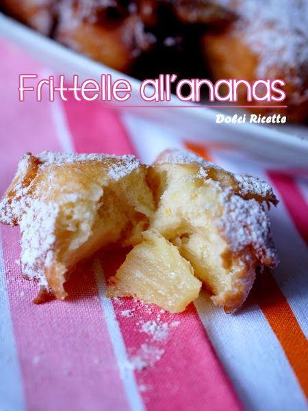 #Frittelle all'ananas