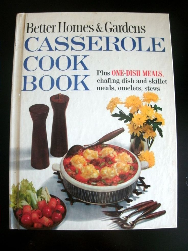 Better homes gardens casserole cookbook 1961 vintage Better homes amp gardens recipes
