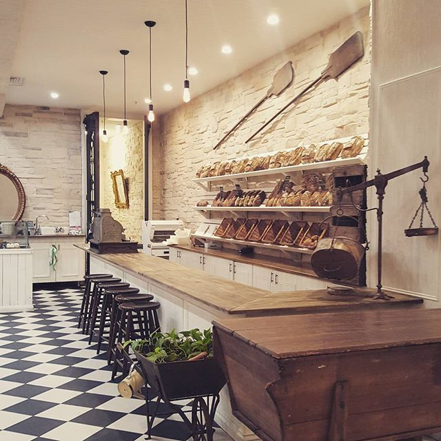 Stunning French style patisserie, with a real modern twist.  hospitalitydesign\u2026