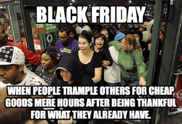 Black Friday Funny Picture