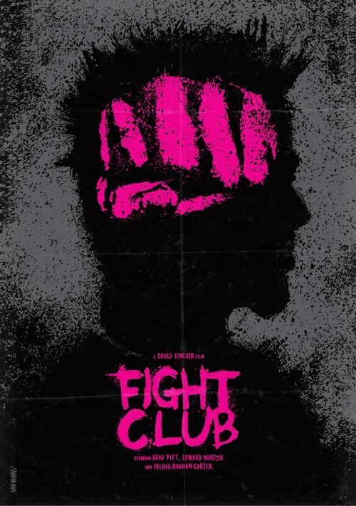 Fight Club: Fav Movie, Minimalist Movie Posters, Fightclub, Daniel Norris, Fight Club, David Fincher, Alternative Movie, Favorite Movie, Club Posters
