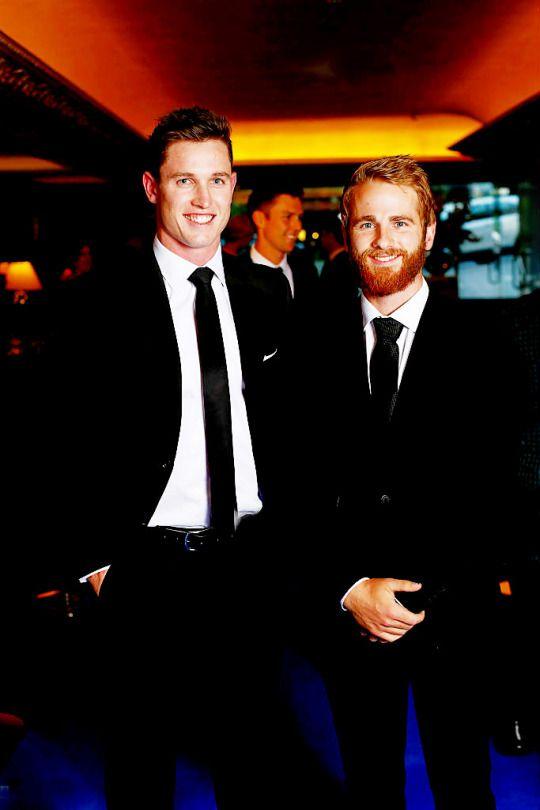 Kane Williamson, Adam Milne - two of New Zealand Black Caps' rising stars