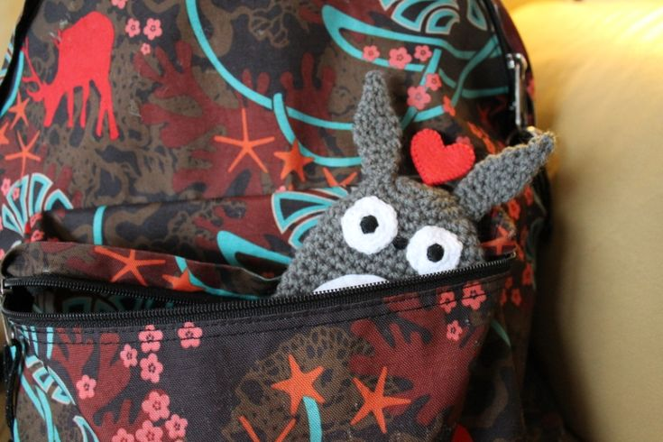 Totoro Key Cozy / Sleutelhoes