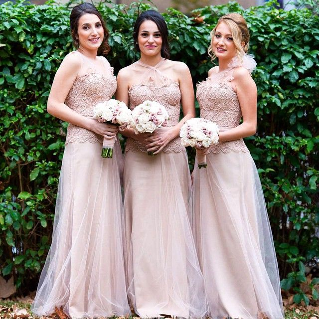 Adriana's Couture Bridesmaid Gowns, so soft and pretty!