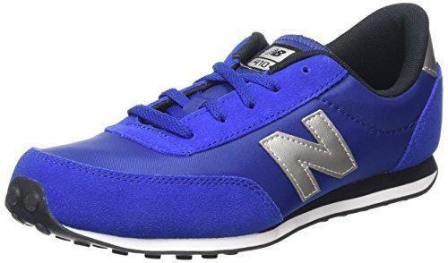 Oferta: 55€. Comprar Ofertas de New Balance KL410 Kids Lifestyle Cordón - Zapatillas de deporte para niño, color azul, talla 37 barato. ¡Mira las ofertas!