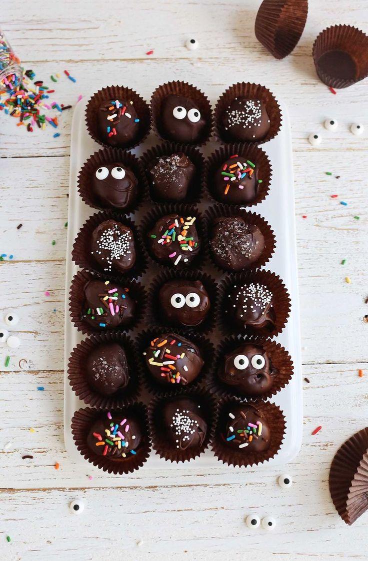 Easy no-bake truffles