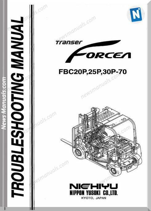 Nichiyu Forklift Fbc20 25 30 70P Troubleshooting Manual