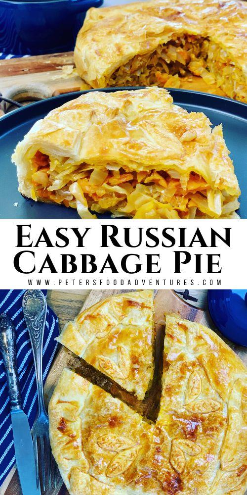 Russian Cabbage Pie – Пирог с капустой – Peter's Food Adventures