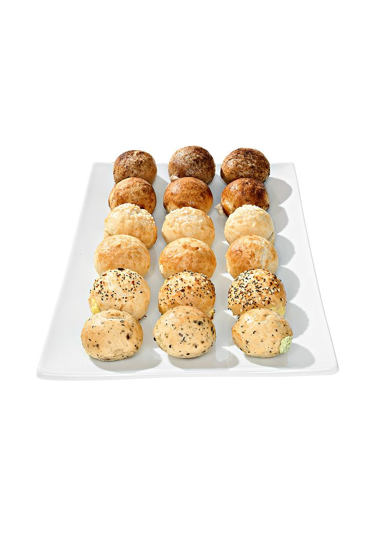 Mini Filled Bagel Balls || Double-click to see the other 72 picks for Oprah's Favorite Things 2014!