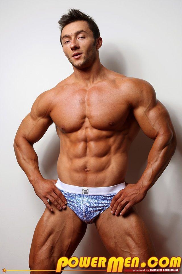 Uncut muscle men