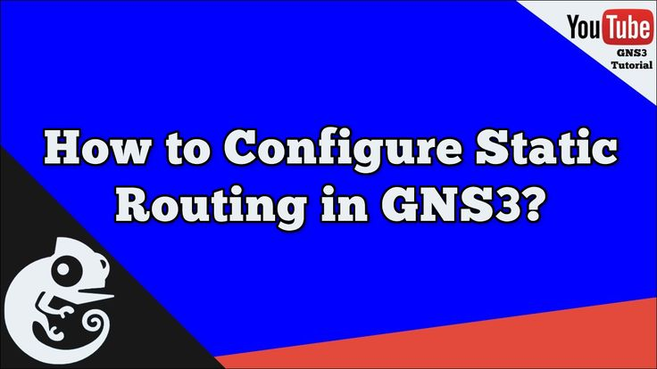 How to Configure Static Routing in GNS3 | What is Static Routing | GNS3 TUTORIAL ───────────────────────────────────────── Watch the Video ► https://www.youtube.com/watch?v=a2UiKKu-CmQ ───────────────────────────────────────── #GNS3 #GNS3Tutorial #IOS #Router #CiscoRouter #CiscoSwitch #Routing #Switching #CiscoSystems #MultilayerSwitch #Layer3Switch #CiscoNetworking #CiscoCCNA #CCNA #CCENT #CCNP #IOU #CiscoIOU #L2 #L3