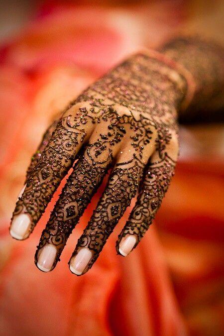 bridal henna mehndi design