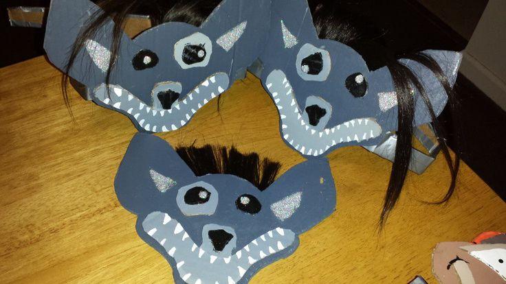 The Lion King 3 Hyena S Mask Party Ideas Pinterest