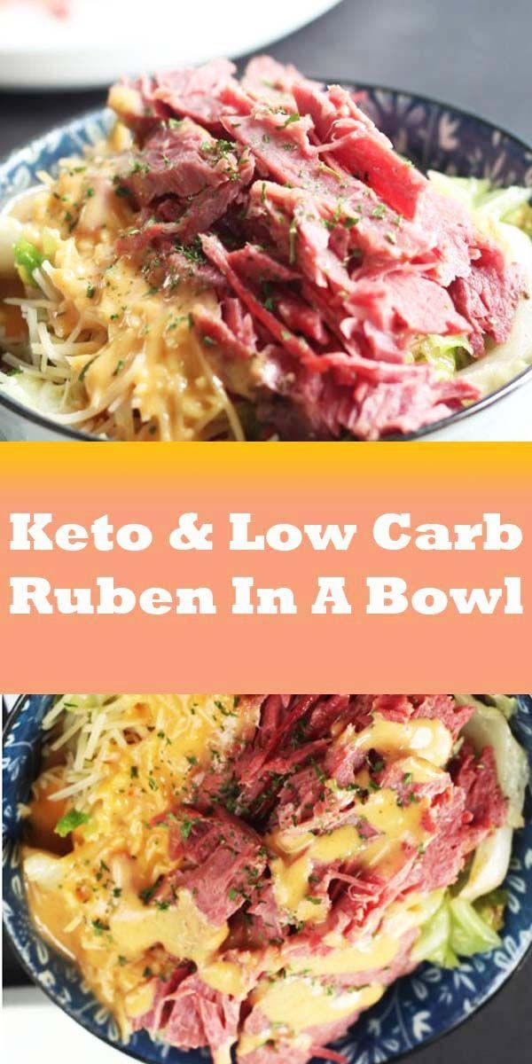 Keto & Low Carb Ruben In A Bowl Recipe