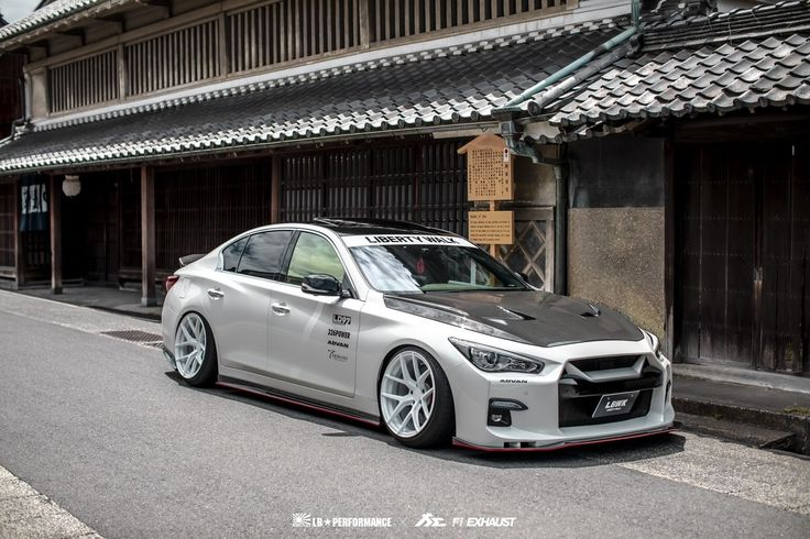 The Nissan 400R Skyline Japanese domestic version of