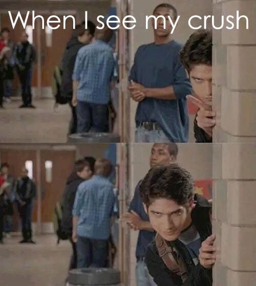 Imagen de teen wolf, crush, and funny