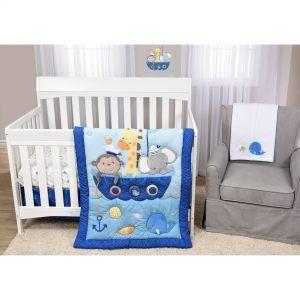 NoahS Ark Crib Bedding Set