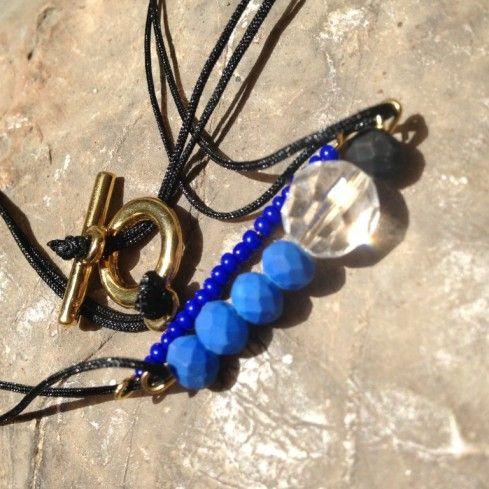 Blue as the Greek Sky! Handmade by Demetrios Collezioni
