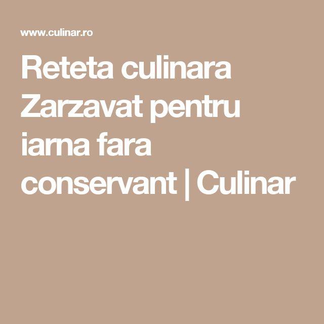 Reteta culinara Zarzavat pentru iarna fara conservant | Culinar