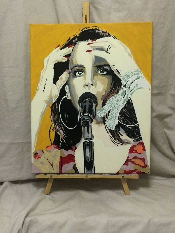 17 Best images about Musicians & Rock Stars painted by ...